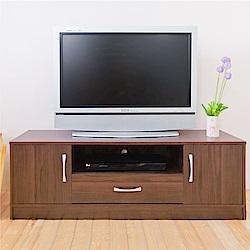 《HOPMA》DIY巧收現代雙門電視櫃-寬120.3 x深36.3 x高40cm