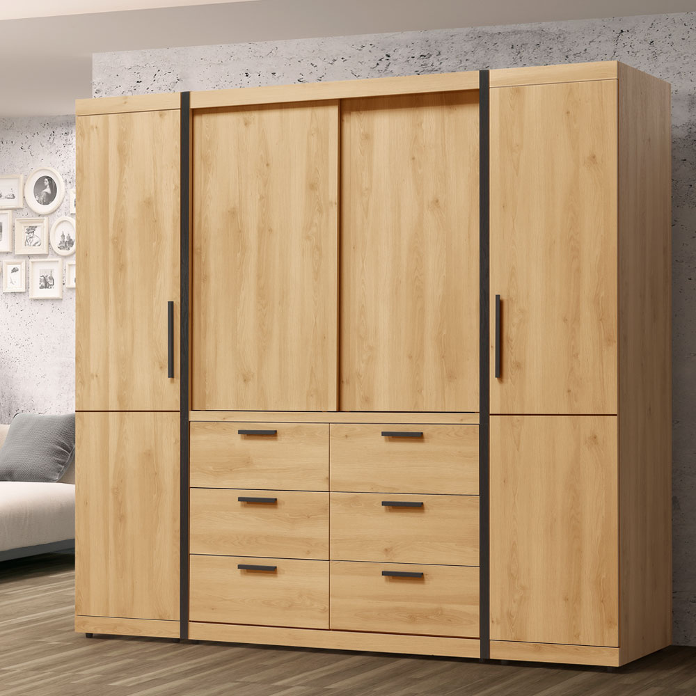 Homelike 東理7x7尺衣櫃-211x60x202cm