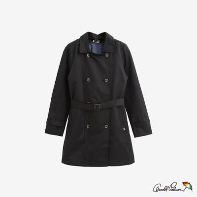 Arnold Palmer -女裝-兩件式雙排扣風衣外套-黑