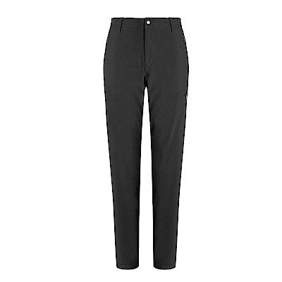 【GOHIKING】女彈性輕三層防風保暖長褲
