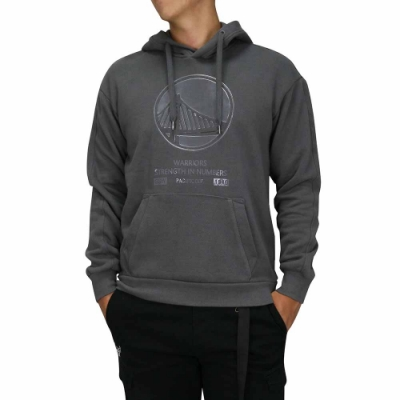 NBA Style C&S T-SHIRTS 大LOGO 連帽T恤 勇士隊