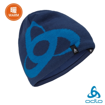 Odlo 保暖型 CERAMIWARM PRO 針織毛帽 深藍/督政府藍