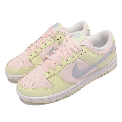 Nike 休閒鞋 Dunk Low 經典款 運動 女鞋 Lime Ice 舒適 皮革 球鞋穿搭 粉 淺綠 DD1503-600