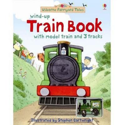 Wind-UP Train Book 車車書:蒸汽火車之旅