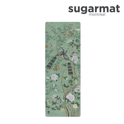 加拿大Sugarmat 麂皮絨天然橡膠瑜珈墊(3.0mm) 古典翡翠 Jade panel