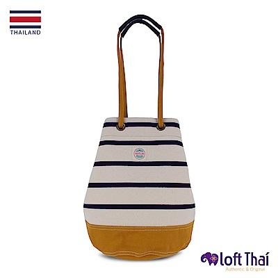 Loft THAI | U.Bucket | Stripe/mustard