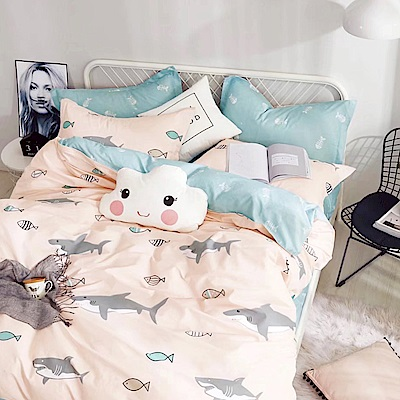 Ania Casa 安東尼 單人兩件式 100%精梳棉 台灣製 床包枕套純棉兩件組