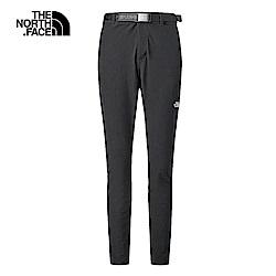 The North Face北面女款黑色防潑水長褲|3RLHJK3