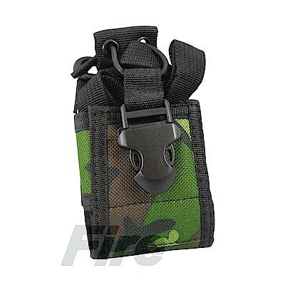 無線電對講機專用 攜帶型 戰鬥背帶 腰帶布套 戰背 叢林迷彩