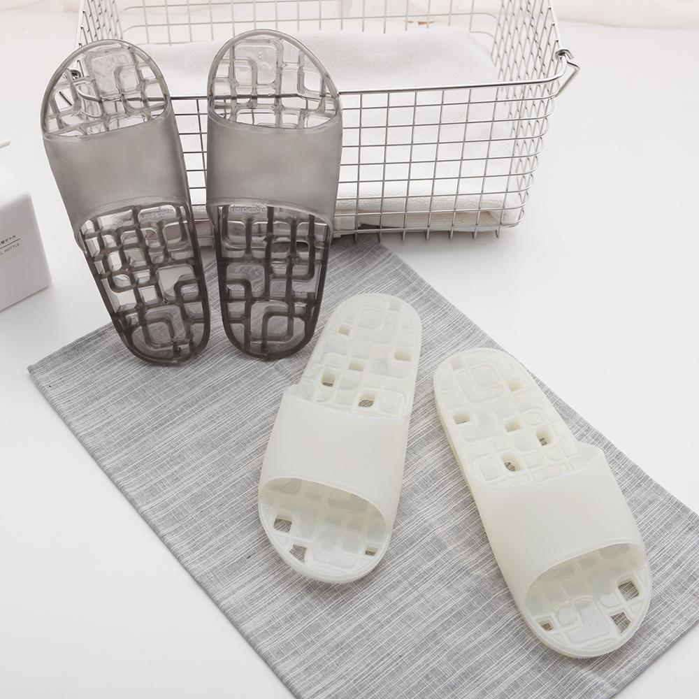333家居鞋館 方格排水浴室拖鞋