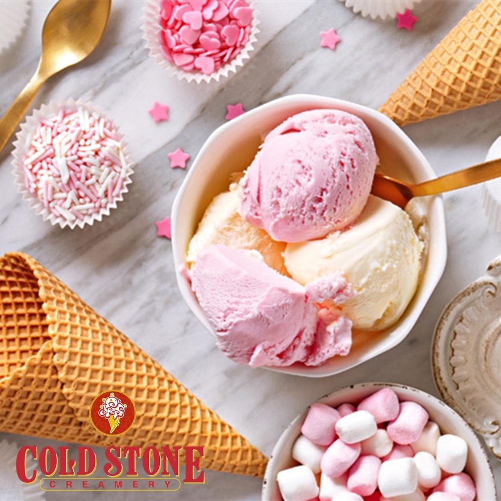 【酷聖石 COLD STONE】TAKE IT 甜筒雙球冰淇淋 歡樂禮券 (1張)