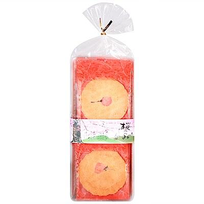 森白製果 櫻花風味餅(90g)