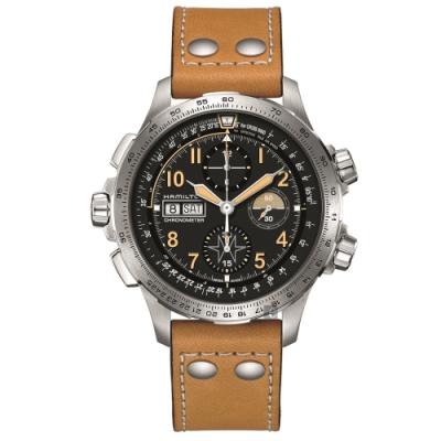 Hamilton漢米爾頓 Khaki X-Wind 御風者計時限量機械錶