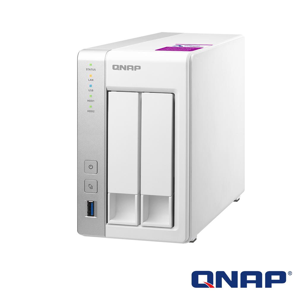 (無卡分期-12期)【促銷組合】QNAP TS-231P2-1G +Seagate 2TB*2