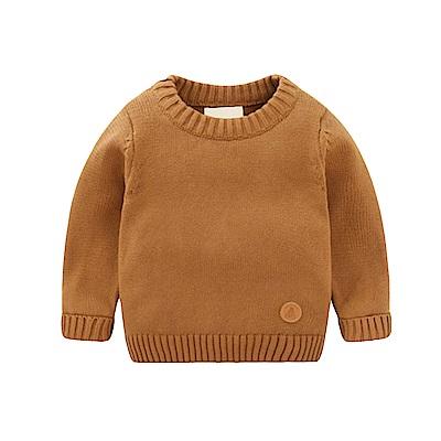 兒童 小圓標針織上衣 共二色 TATA KIDS