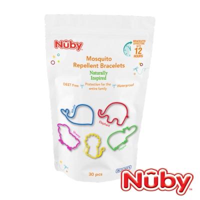 Nuby 動物造型驅蚊矽膠圈(30入)