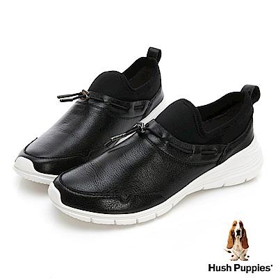 Hush Puppies CYPRESS 休閒運動便鞋-幻黑