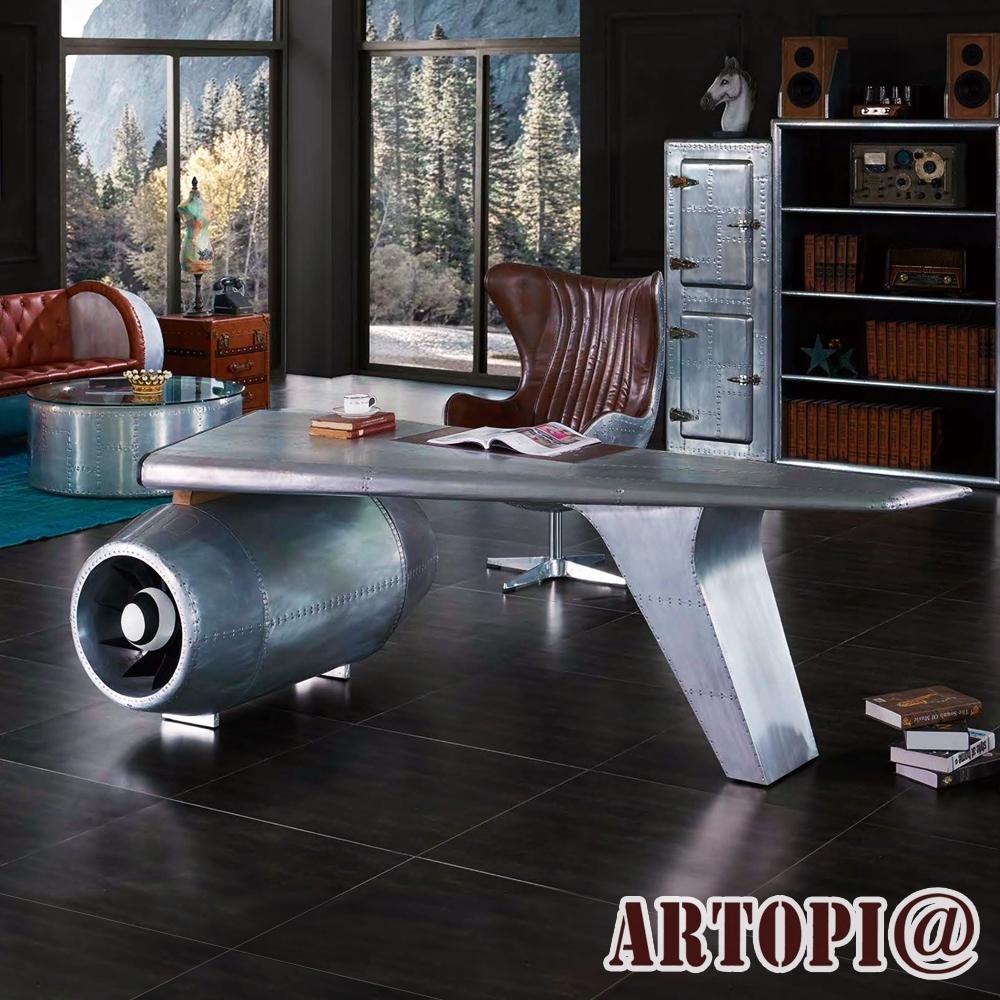 ARTOPI_Turbojet渦輪引擎飛官桌 W230*D120*H78 cm