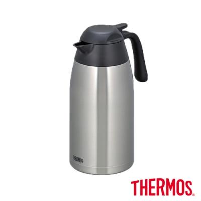 THERMOS膳魔師不鏽鋼真空保溫壺2.0L(THX-2000-SBK)(不鏽鋼色)