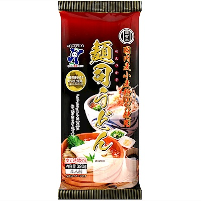 加藤產業 麵有樂-烏龍麵(320g)