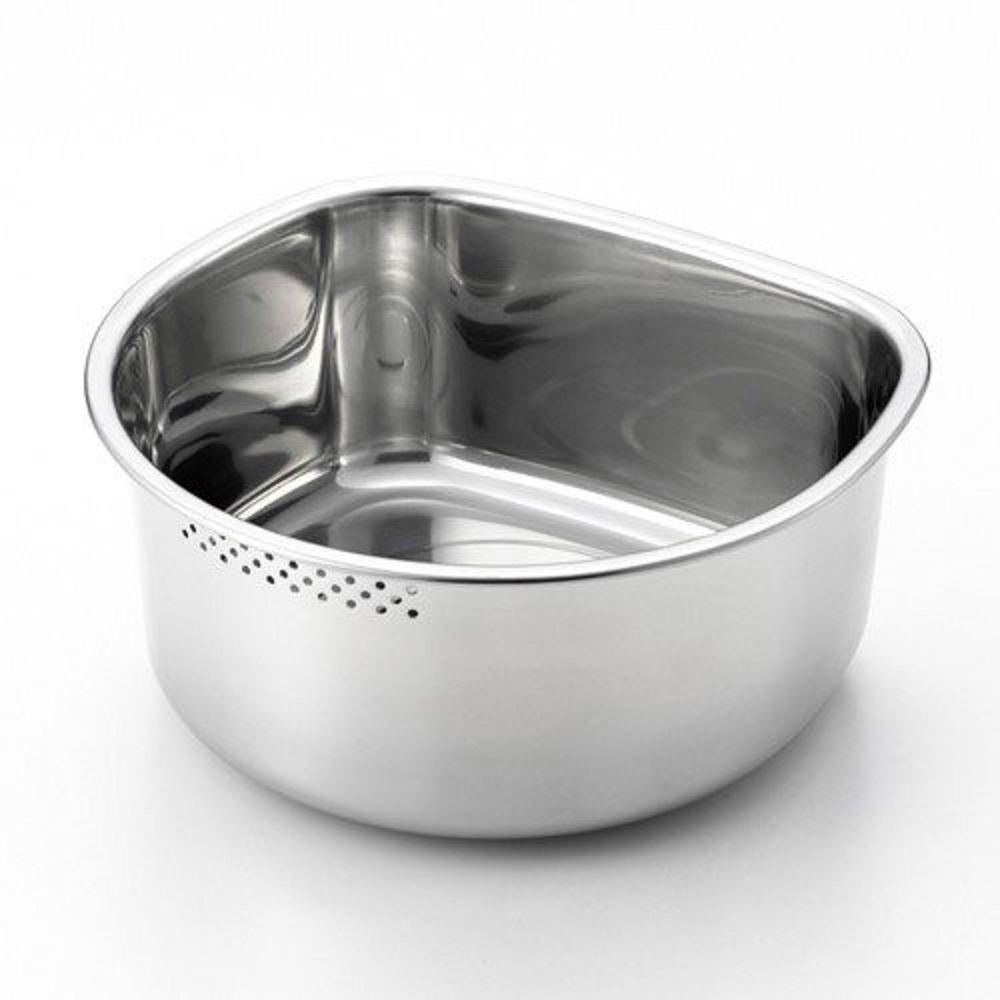 日本 吉川Yoshikawa D型有孔洗菜桶