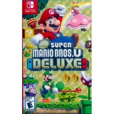 New 超級瑪利歐兄弟 U 豪華版 New Super Mario Bros. U Deluxe - NS Switch 中英日文美版