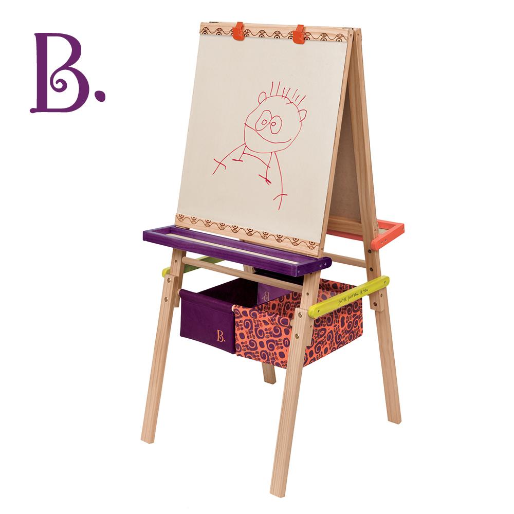 美國B.Toys 伊索木畫架