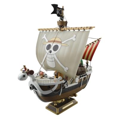 日本BANDAI海賊王ONE PIECE航海王前進梅莉號#655097(綠字銀證)Going Merry模型