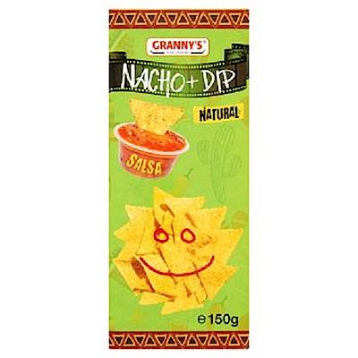 GRANNYS 莎莎醬+墨西哥玉米脆片組(150g)