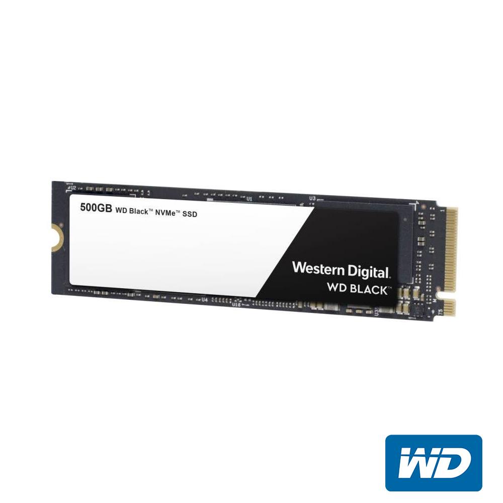 WD SSD 1TB NVMe PCIe Gen3 固態硬碟(黑標)