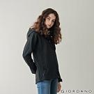 GIORDANO 女裝Softshell 三合一高機能連帽外套 - 01 標誌黑