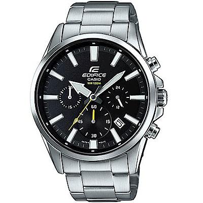 CASIO卡西歐EDIFICE三眼三針時尚腕錶(EFV-510D-1A)