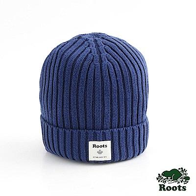 男配件- 沃特針織帽- 藍