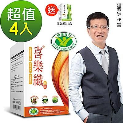 潘懷宗推薦 喜樂纖膠囊(4盒)