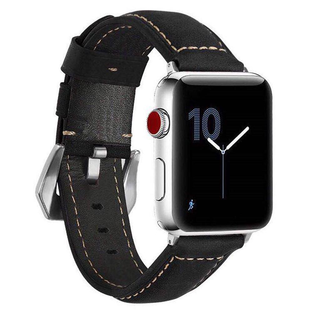 IN7 磨砂瘋馬紋系列 Apple Watch 手工真皮錶帶 @ Y!購物
