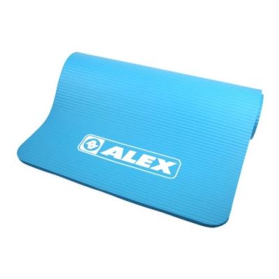 ALEX 運動地墊23 *72 *10mm圓角 藍