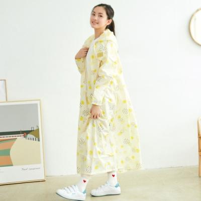 RAINSTORY盛夏派對連身甜美雨衣(M號)