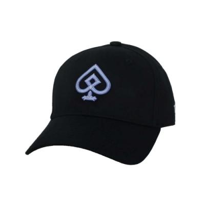 KAPPA DD52聯名球帽-遮陽 防曬 鴨舌帽 帽子 菱格世代 純棉 35151EW-WHY 黑粉紫