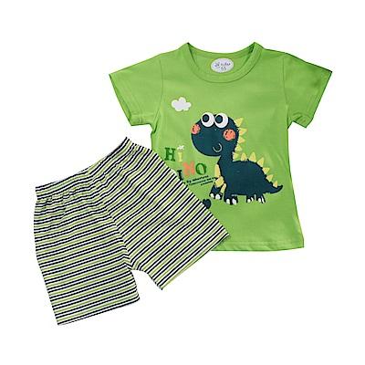 男童短袖清涼套裝 k51101 魔法Baby
