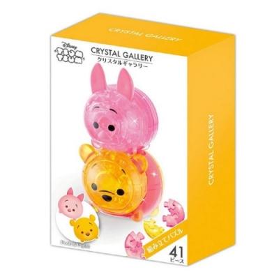 日本 Hanayama 迪士尼 3D水晶拼圖- Tsum Tsum 小熊維尼與小豬