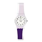 Swatch Bau 包浩斯系列手錶 PURPLETWIST 炫彩紫 -25mm