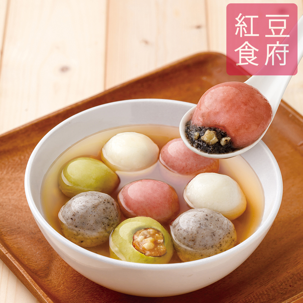 紅豆食府 鴻運四喜湯圓x4盒(10粒/盒)