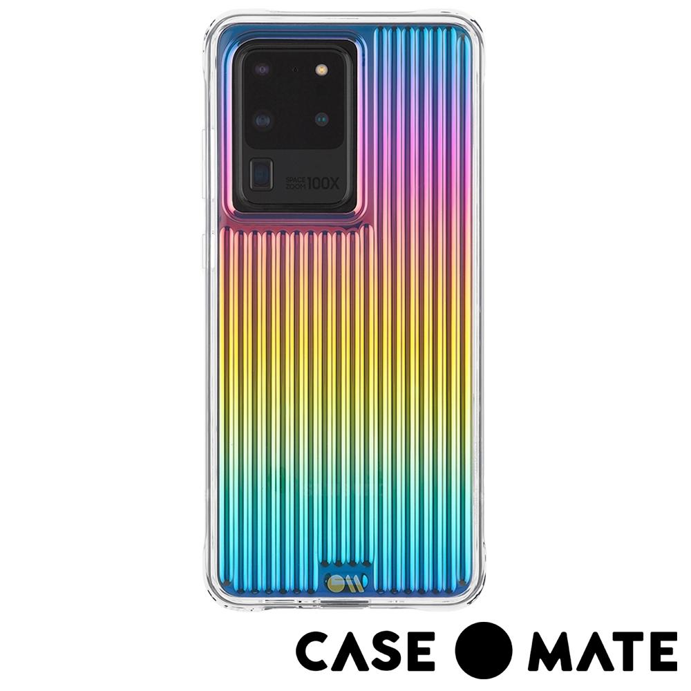 美國 Case●Mate Galaxy S20 Ultra Tough 強悍防摔手機保護殼-彩虹波浪