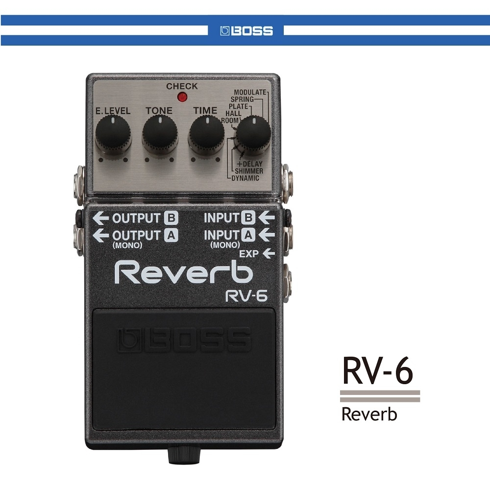 BOSS RV-6 數位殘響效果器