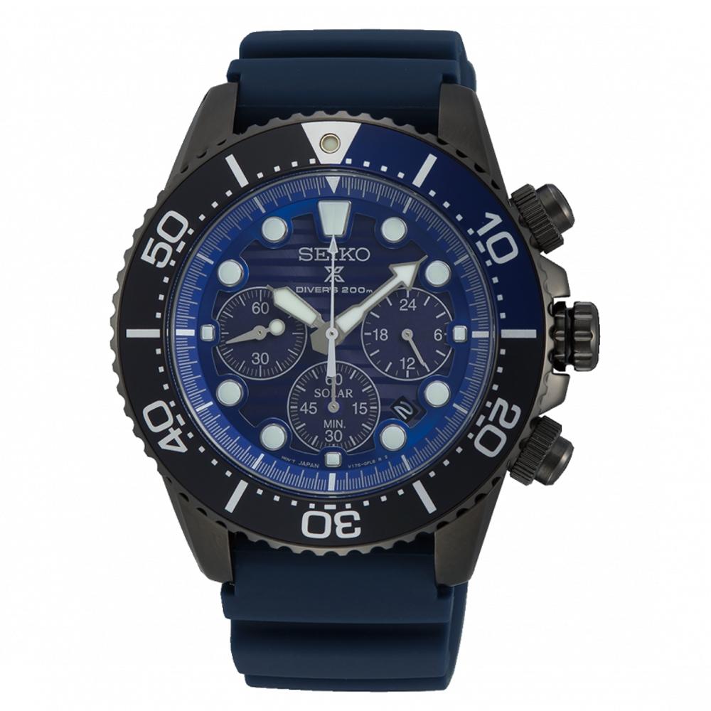SEIKO PROSPEX 愛海洋太陽能潛水計時腕錶SSC701P1/V175-0AD0C