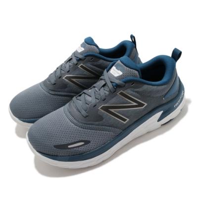 New Balance 慢跑鞋 Fresh Foam 寬楦 運動 男鞋 紐巴倫 避震 舒適 透氣 路跑 健身 灰 藍 MLTOLG12E