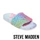 STEVE MADDEN-SHEAR 時尚素面絨毛拖-彩色 product thumbnail 1