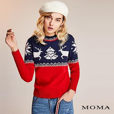限時商品 | MOMA 耶誕麋鹿針織上衣