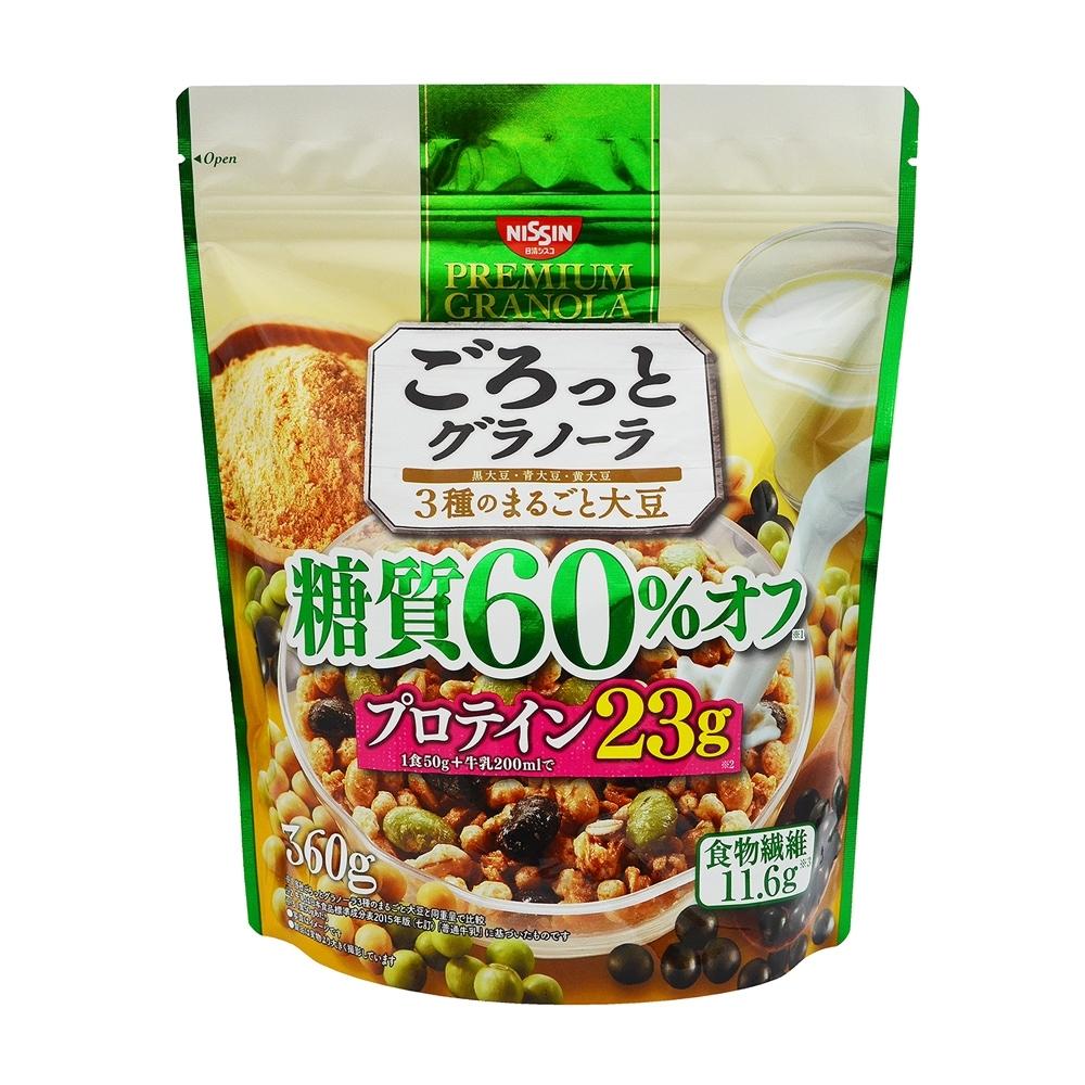 日清 三色豆減糖配方早餐麥片(360g)