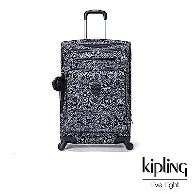 Kipling 奇幻藍羽斑紋27吋行李箱-YOURI SPIN 68